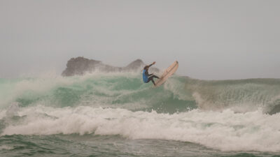 Fotografía del ABANCA Galicia Classic Surf Pro 2019 @WorldSurfLeague